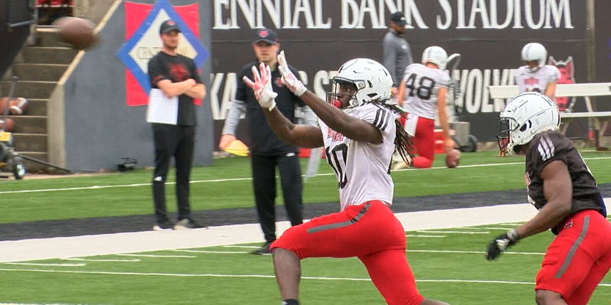 Arkansas State practices Wednesday, Butch Jones breaks down Pack Day Spring Game