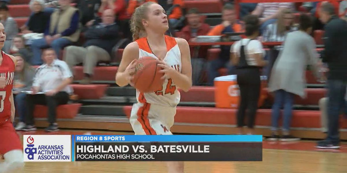 Batesville girls run away from Highland to advance to 4A3 title game
