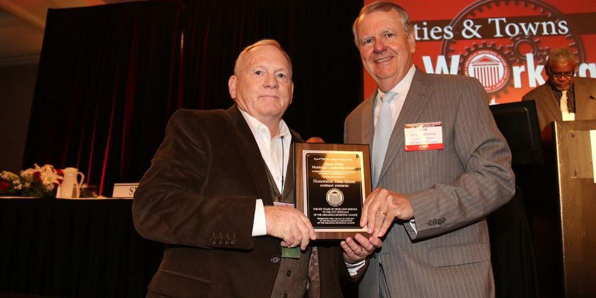Councilmember receives award