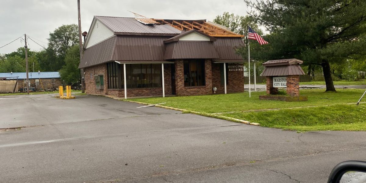 Marston, Mo. City Hall damaged in May 3 storms