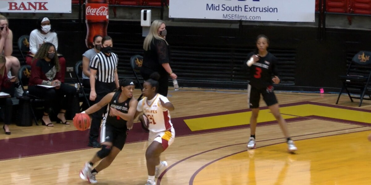 Arkansas State women's basketball uses 20-0 run to record 8th straight win