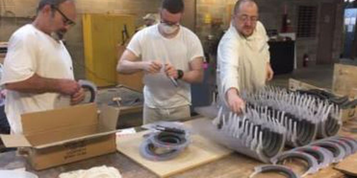 ADC inmates make masks for guards