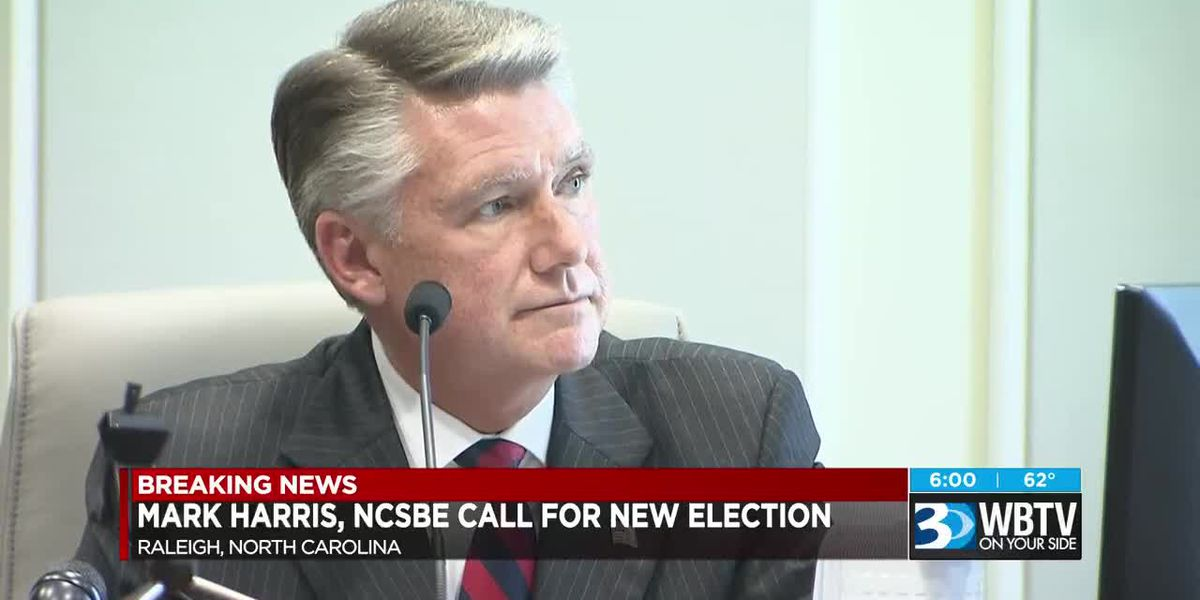 Mark Harris, NCSBE call for new election