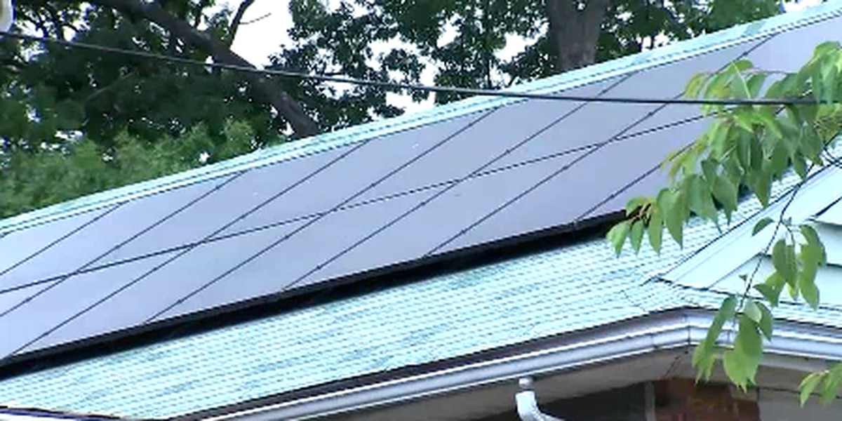 Offsetting solar panel costs
