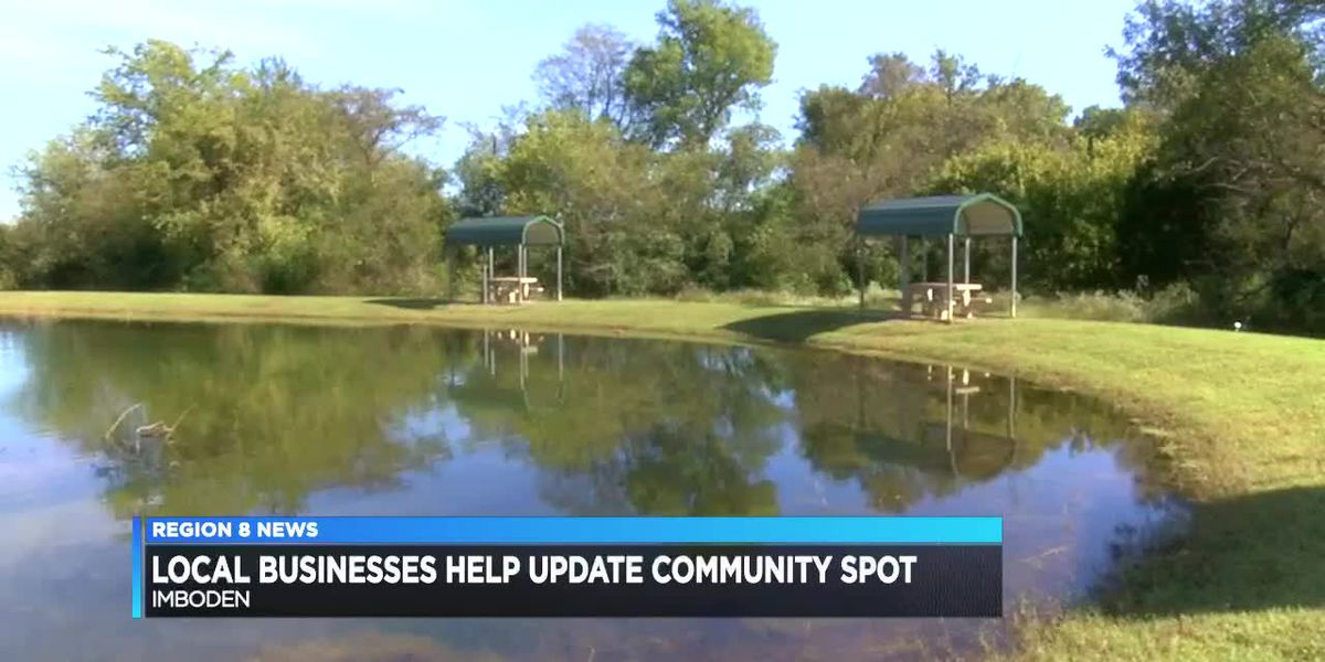 Local businesses help update community spot