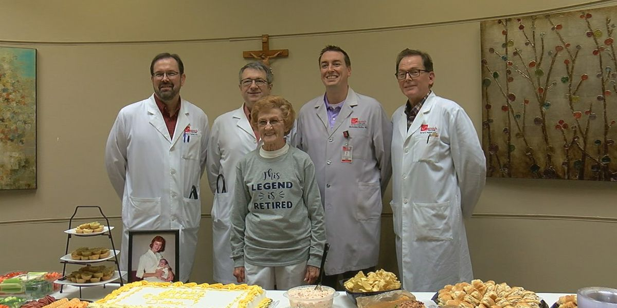 Nurse retires from St. Bernards after 65 years