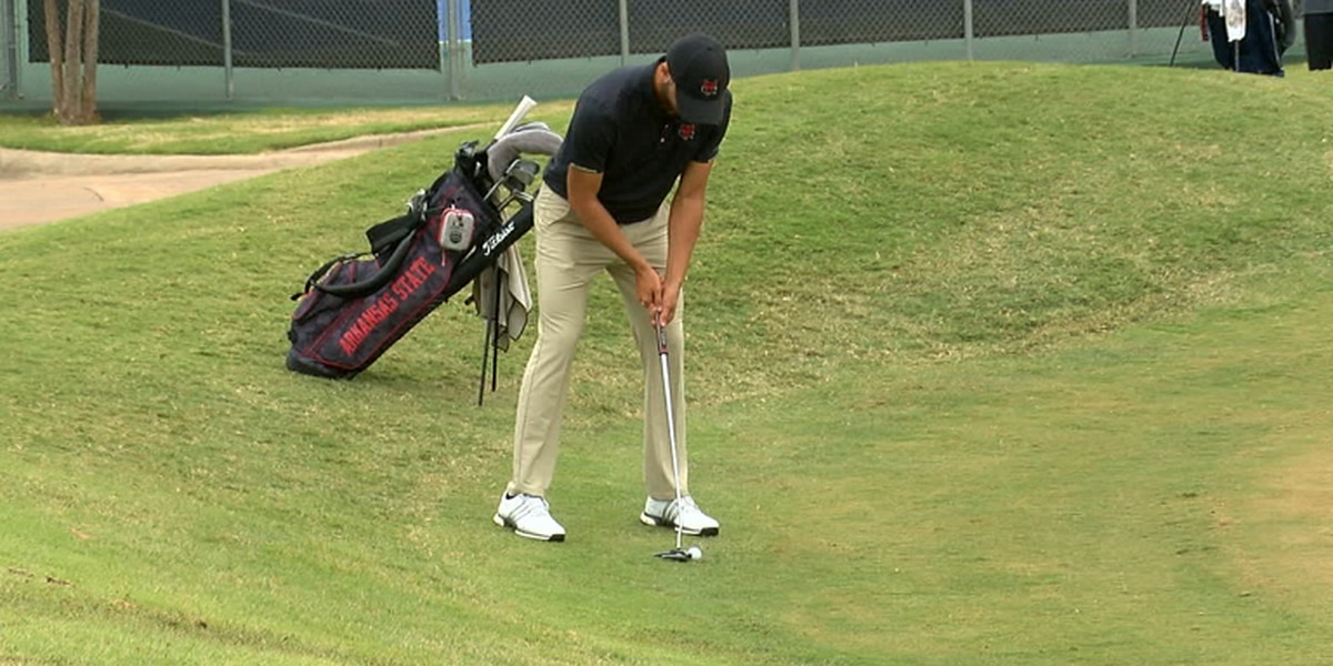 Arkansas State senior Julien Sale earns another SBC Golfer of the Week accolade