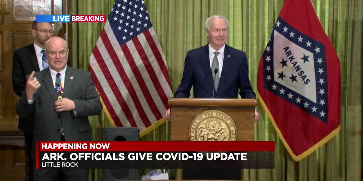 FULL BRIEFING: Gov. Hutchinson and ADH share the latest Arkansas COVID-19 info