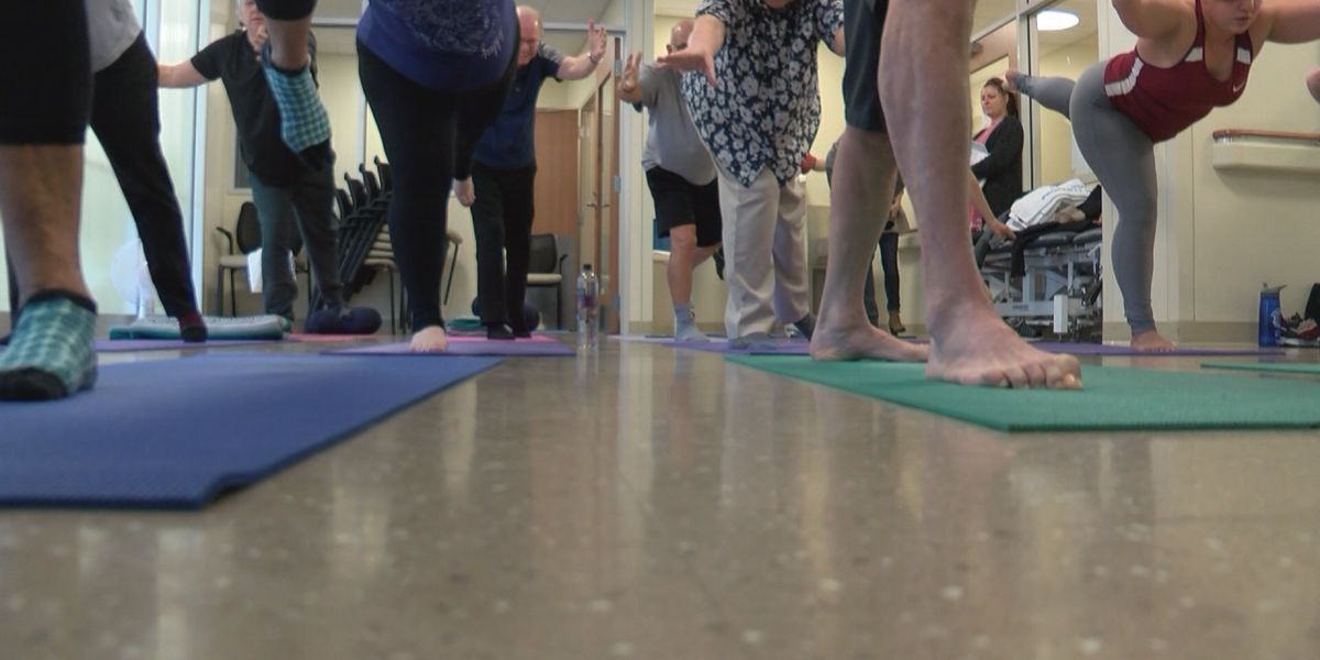 Yoga helps those battling PTSD