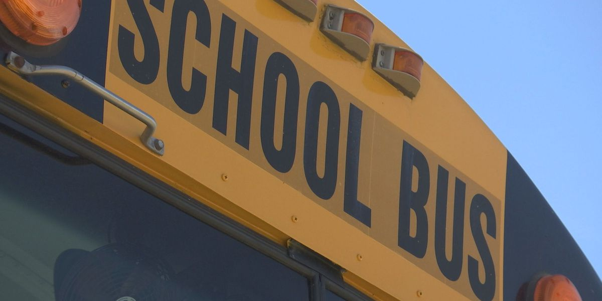 Semi-truck hits school bus, injuring several students