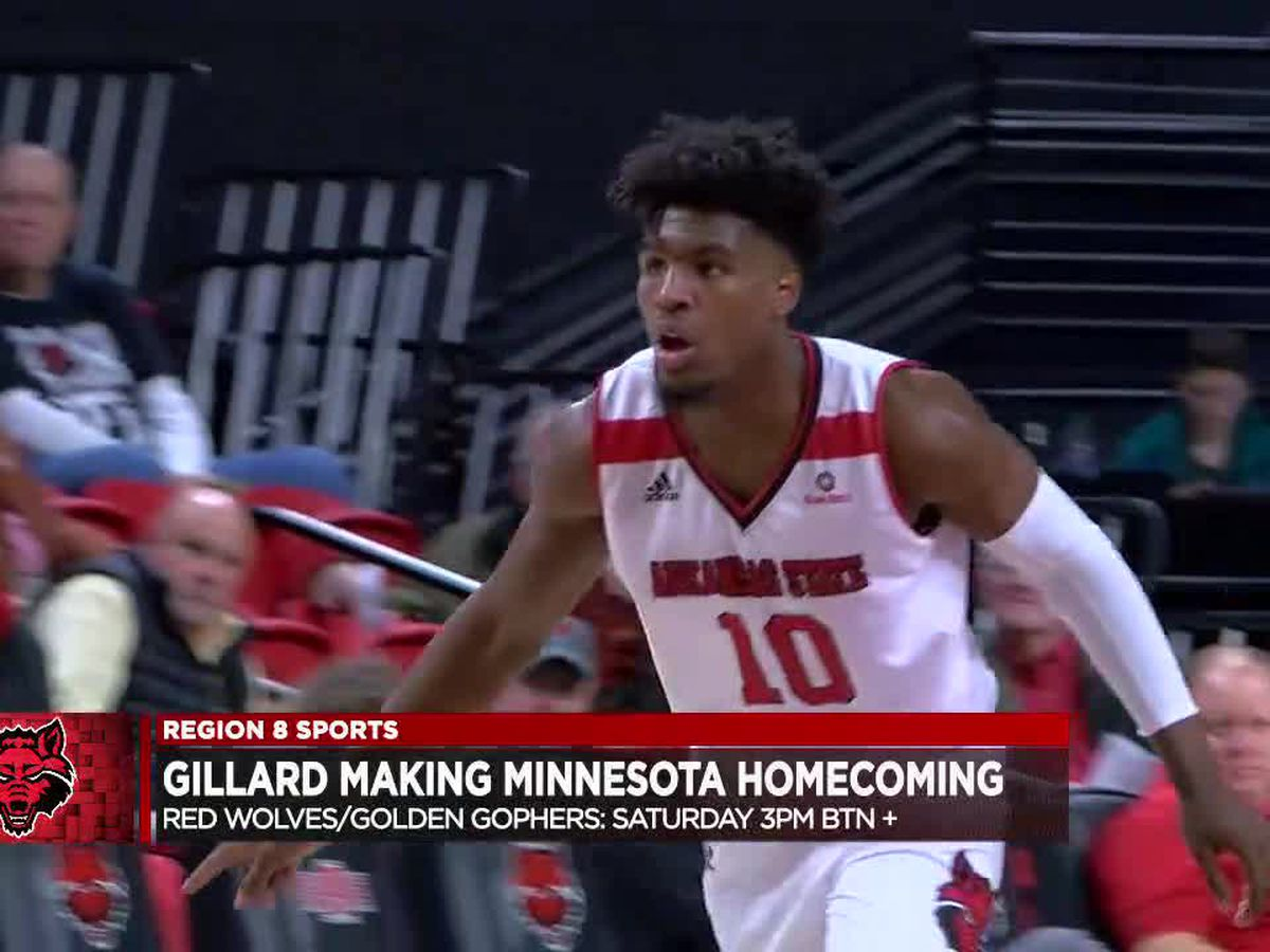 A-State/Minnesota matchup marks a homecoming for Grantham Gillard
