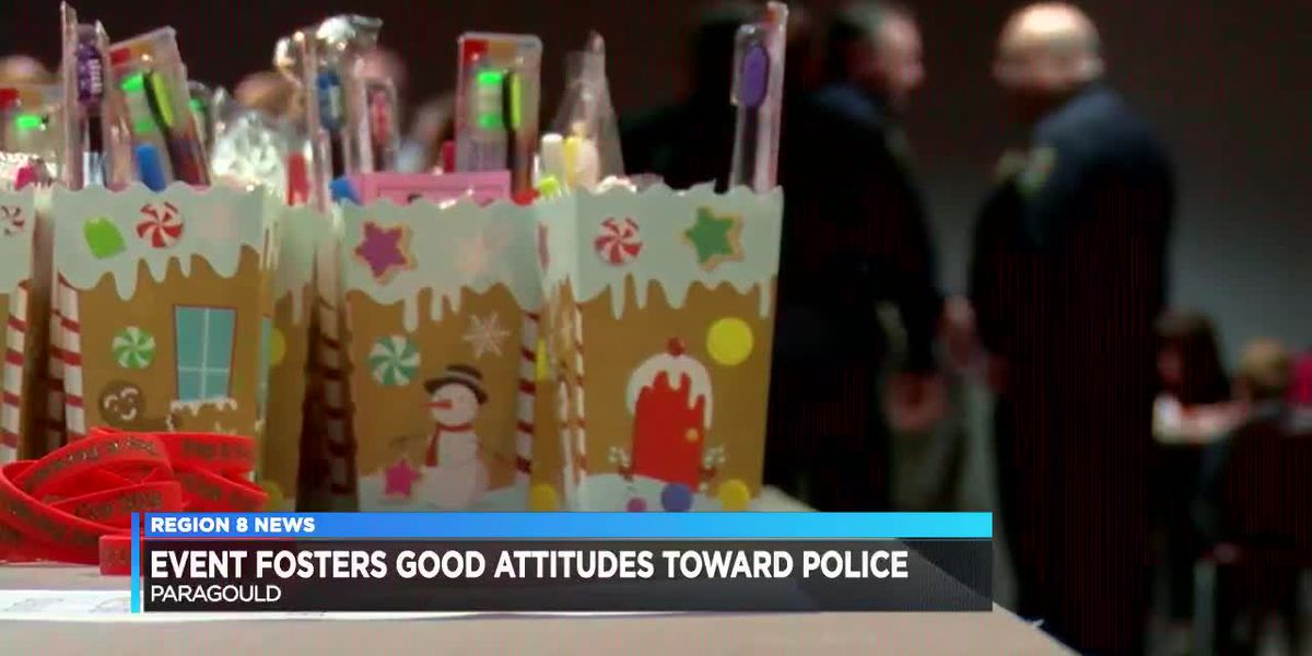 Event brings police and foster children together