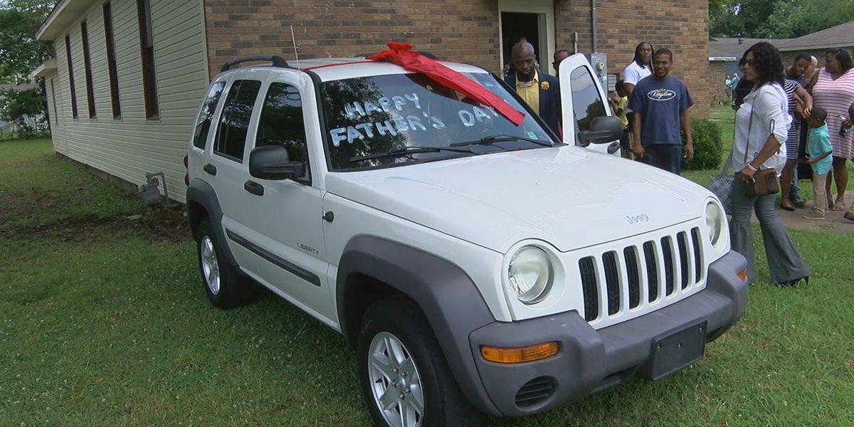 Jonesboro church gives away car for Father's Day