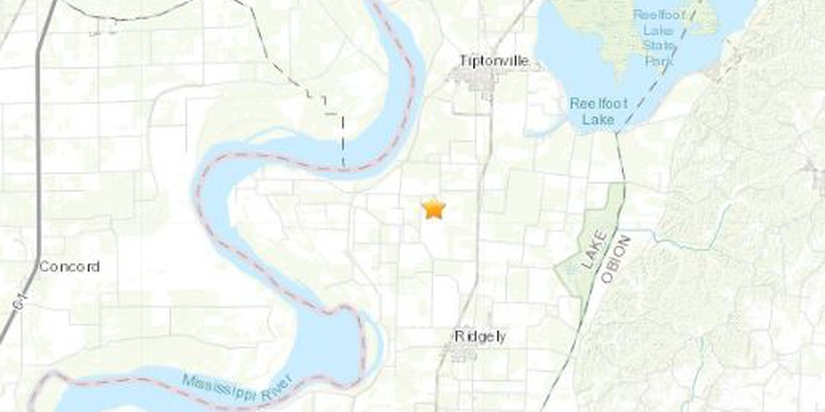 Earthquake rattles in Tenn. outside of Pemiscot Co., Mo.