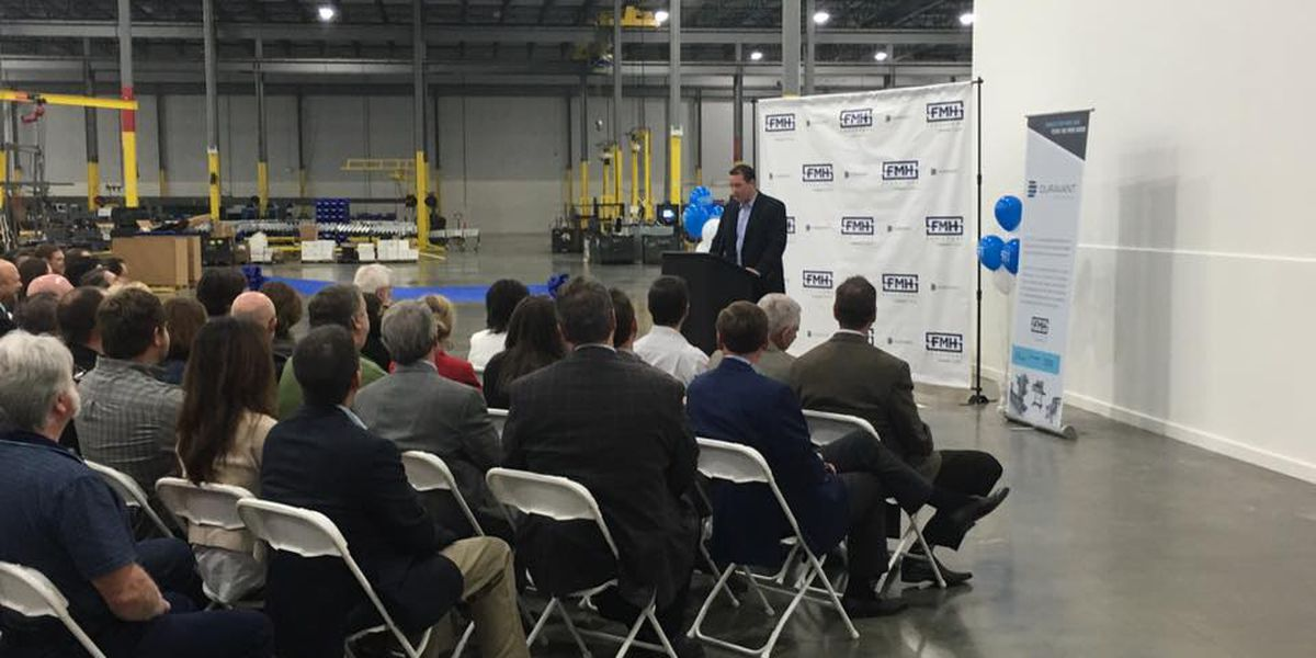 Manufacturer holds grand opening