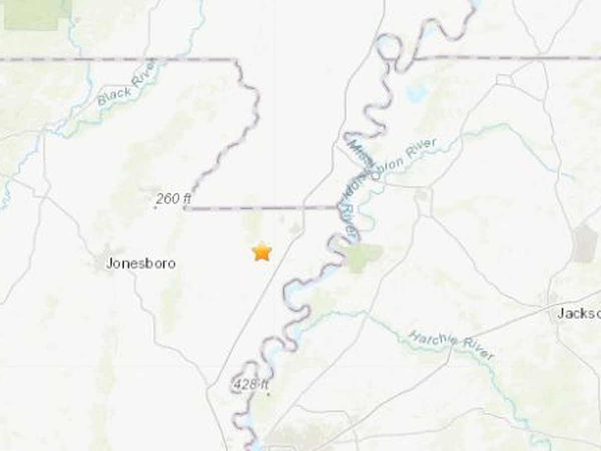 2.3 earthquake in Arkansas, 26 miles from Kennett, Mo.