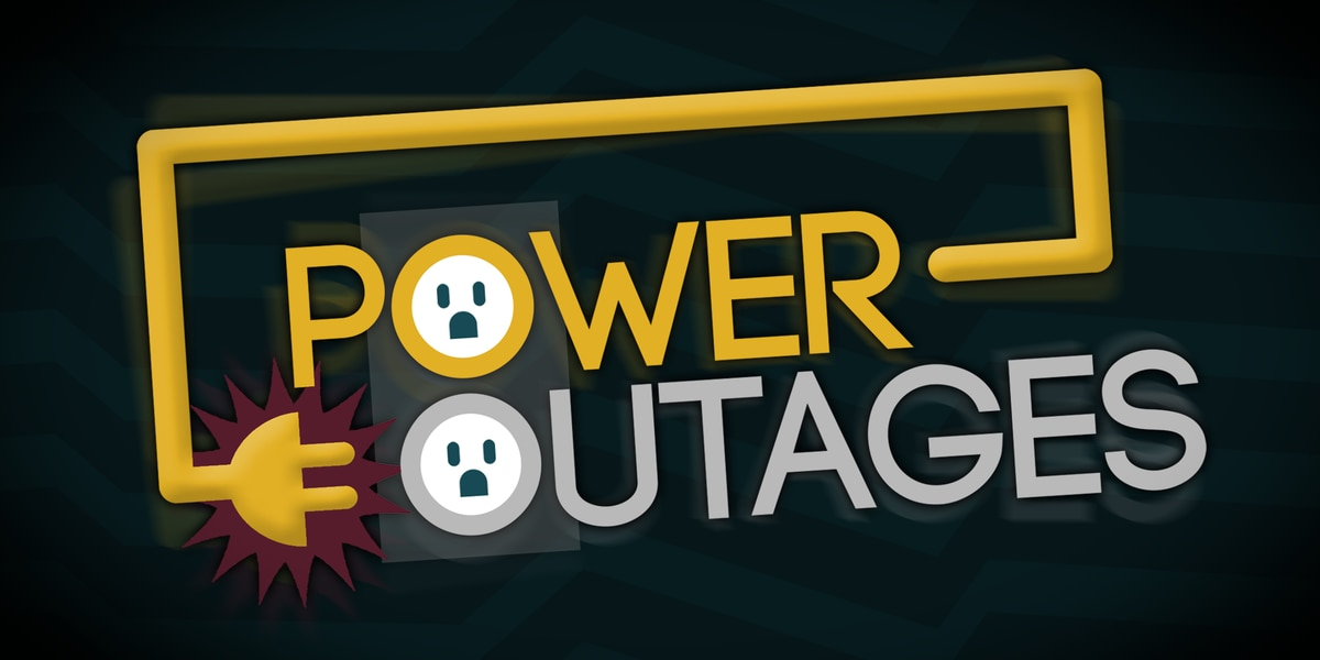Power outages reported with storms