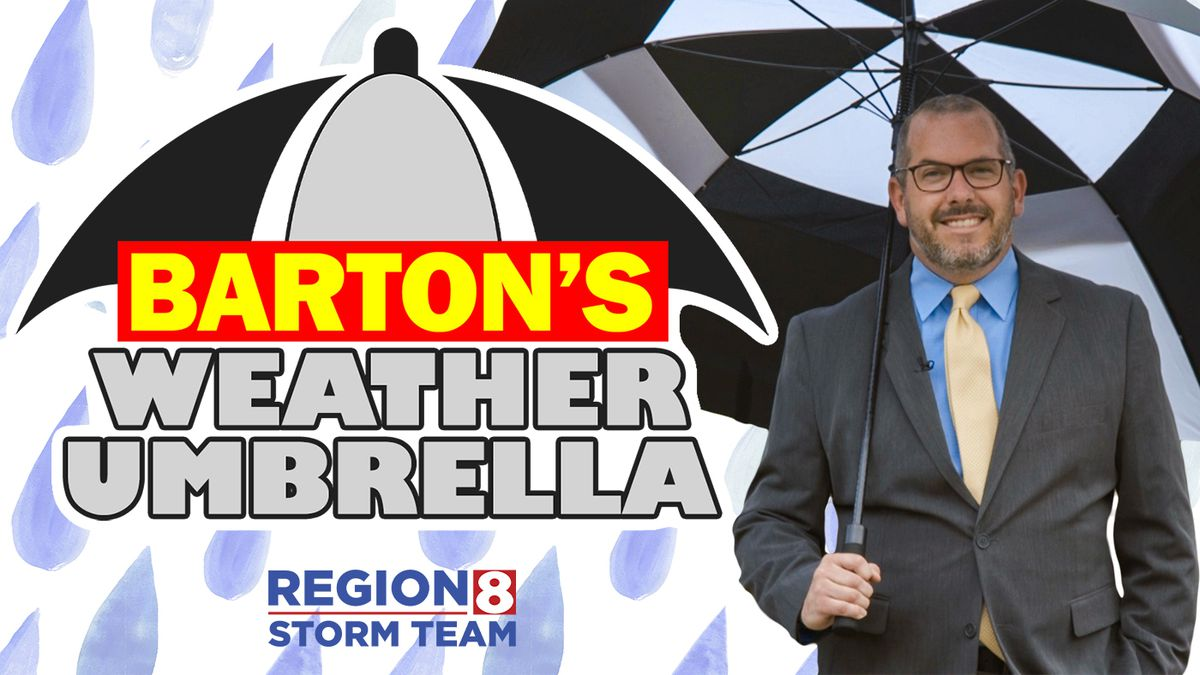Barton's Weather Umbrella