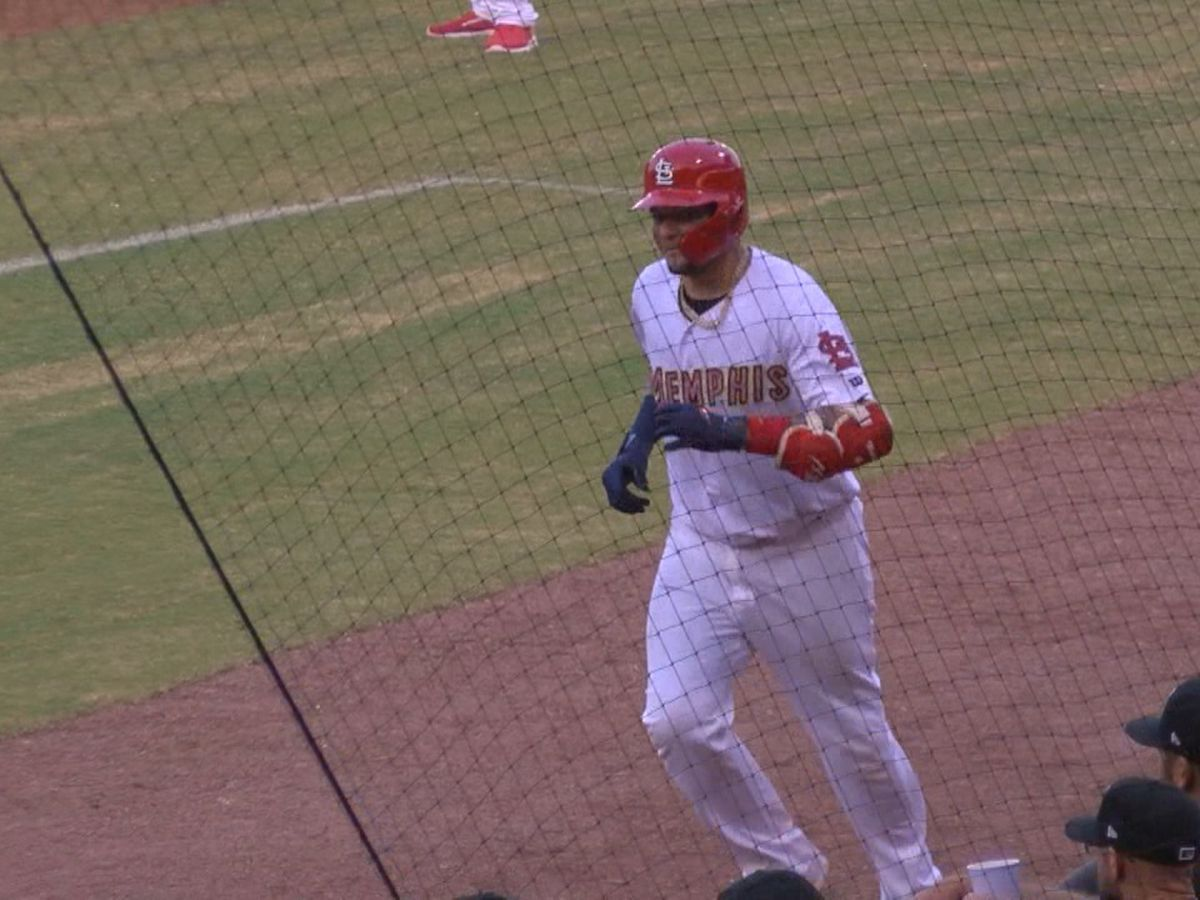 Yadi Molina starts again in rehab assignment for AAA Memphis