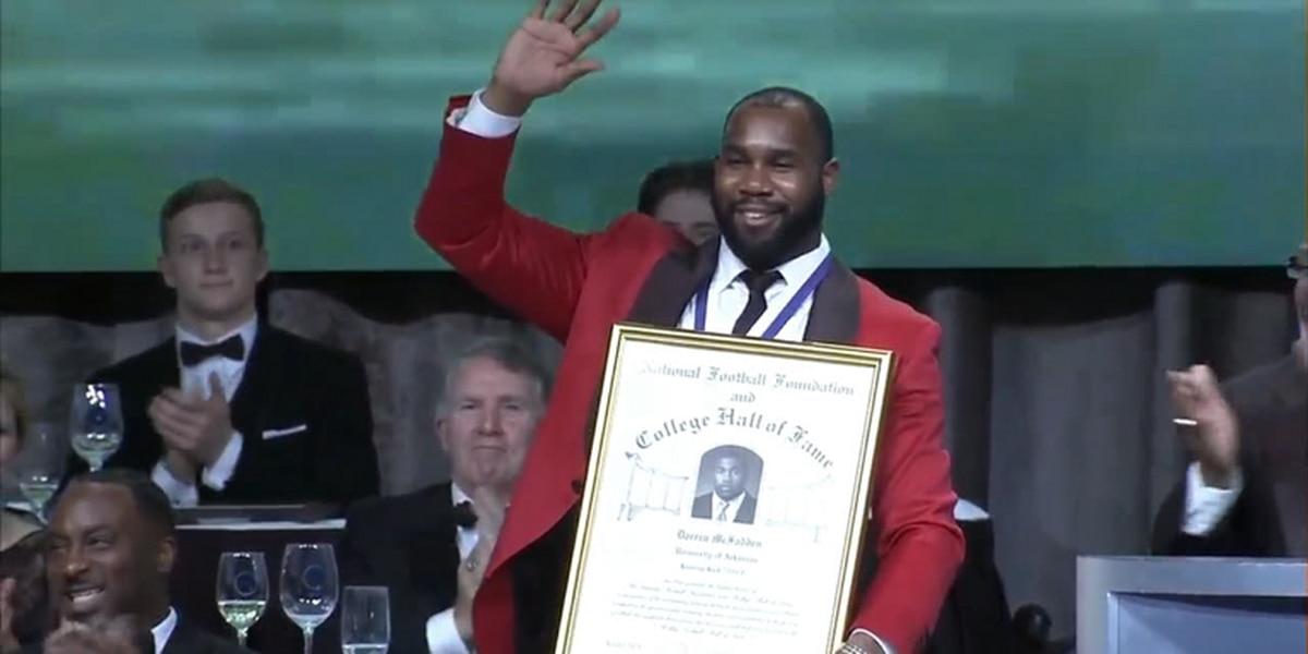 Former Arkansas RB Darren McFadden inducted into College Football Hall of Fame