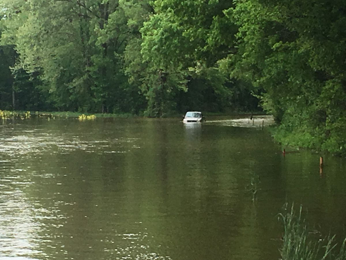 MODOT: Roads flooded due to rising waters in Mo.