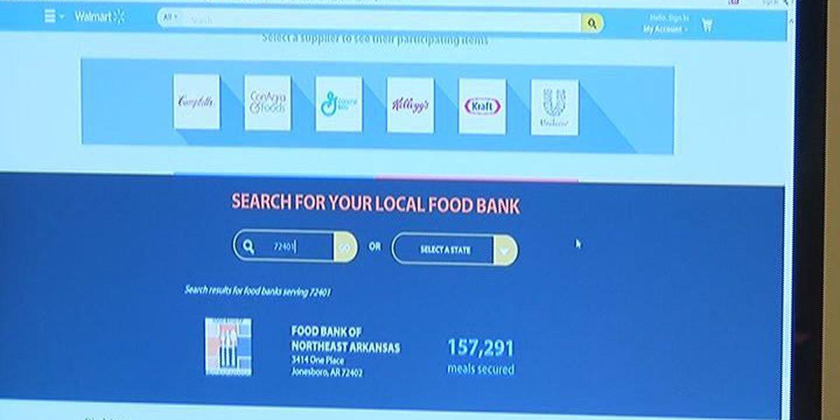 Walmart teams up with Feeding America