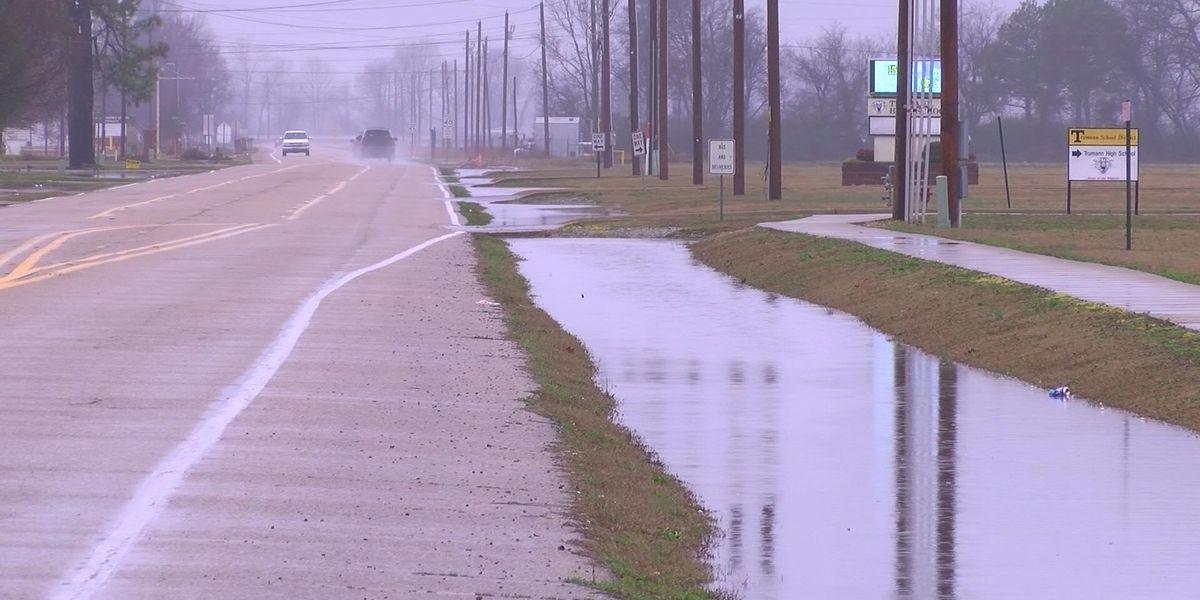 Flooding forces school closure in Trumann