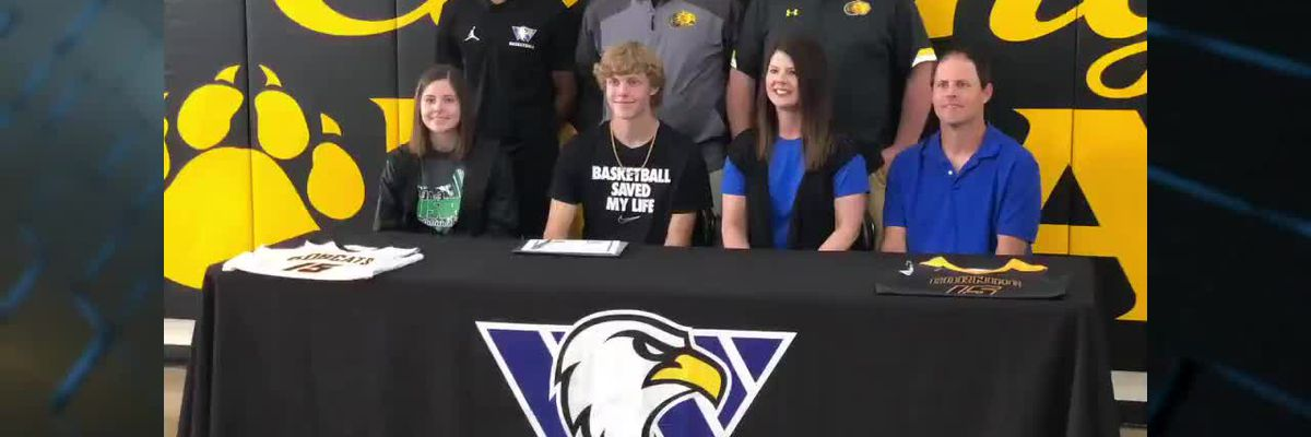 Corning All-State selection Jayden Wiedeman signs with Williams Baptist