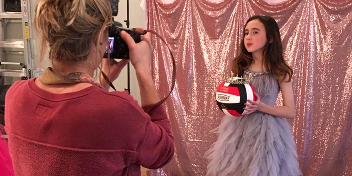 Unique photo shoot highlights children's social, physical triumphs