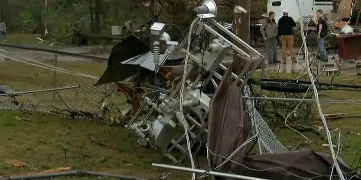 Possible tornado causes major damage