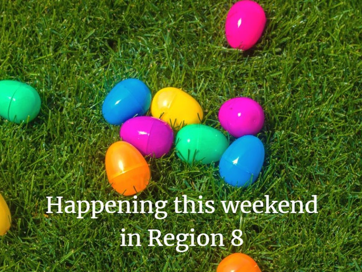 What's happening in Region 8 this weekend