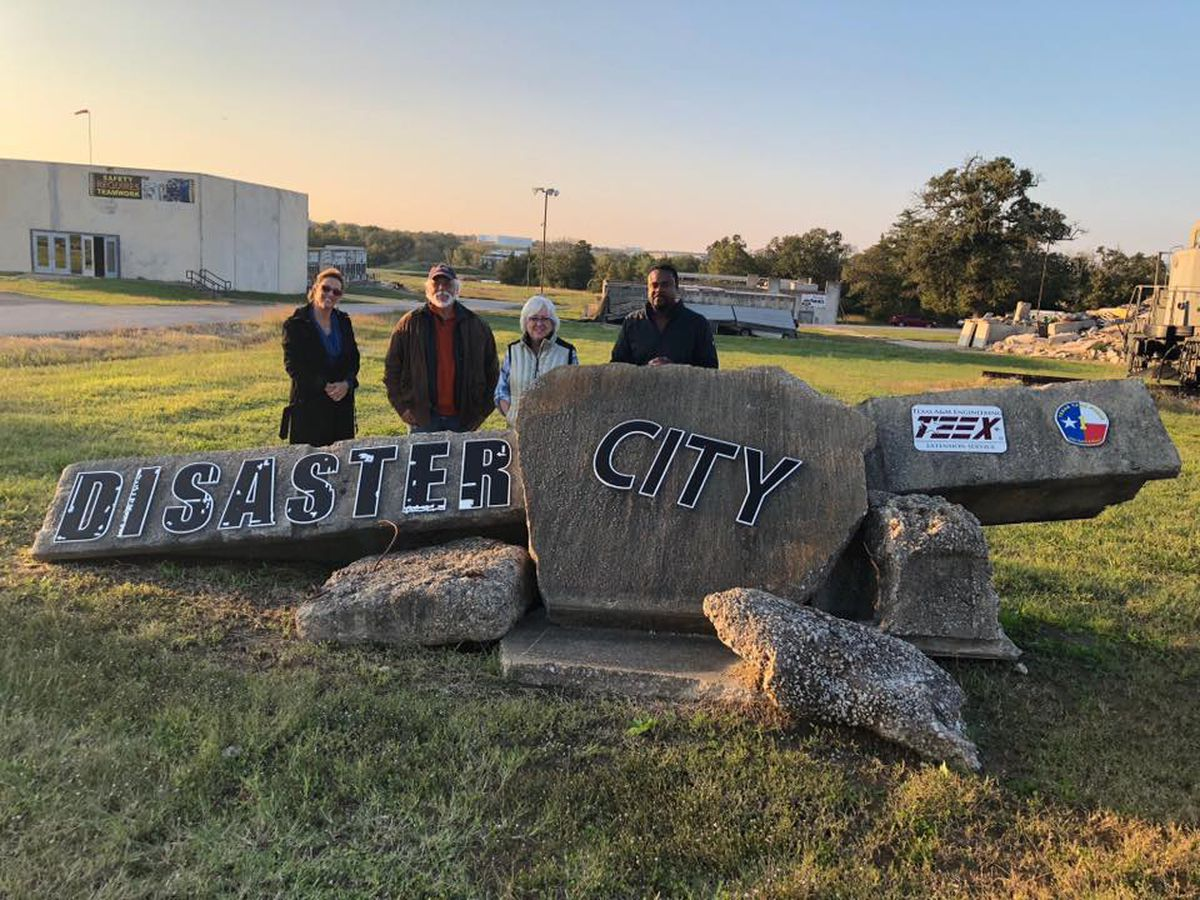 Walnut Ridge officials tour Disaster City facility in Texas