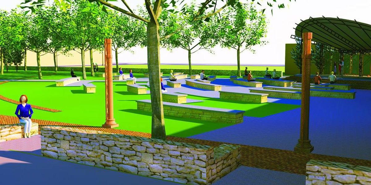 Park with entertainment venue, memorial to come to Region 8 town