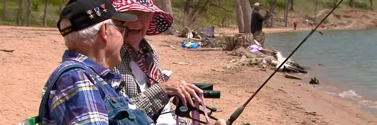 104-year-old fisherman catches 94-year-old girlfriend
