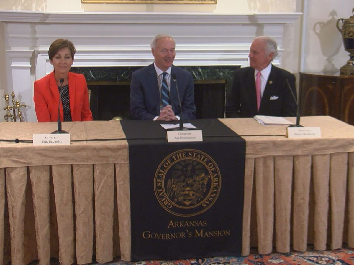 Gov. Hutchinson attends inaugural National Computer Science Summit