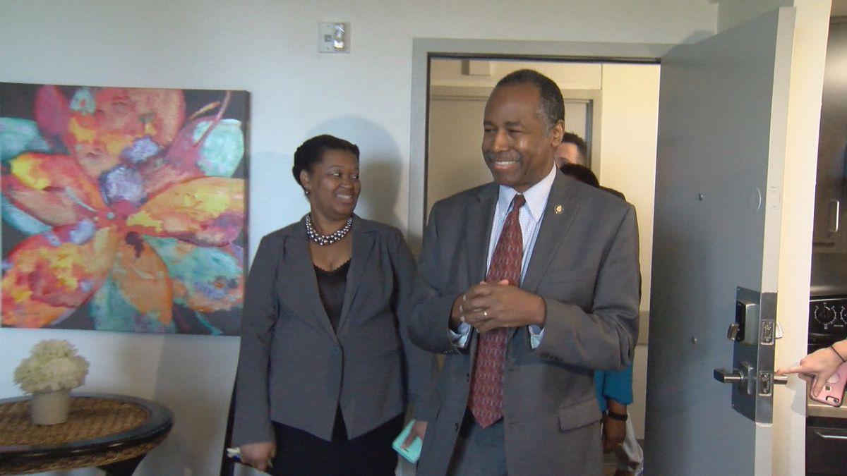 Dr. Ben Carson talks opportunity zones, rental housing standards in Little Rock visit
