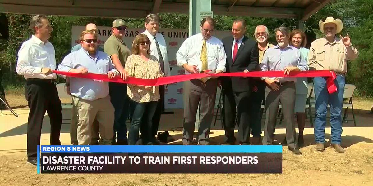 Disaster facility to train first responders