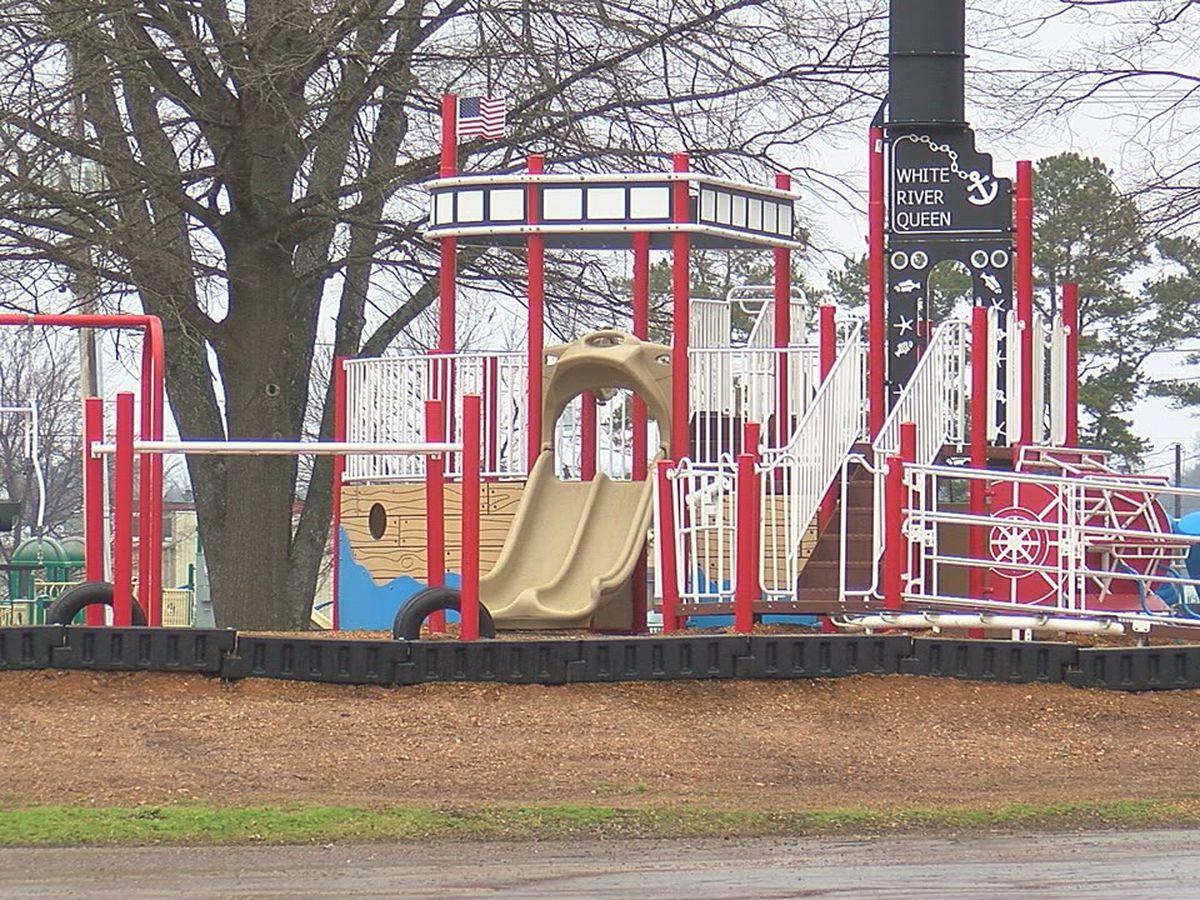 Region 8 park gets updated playground
