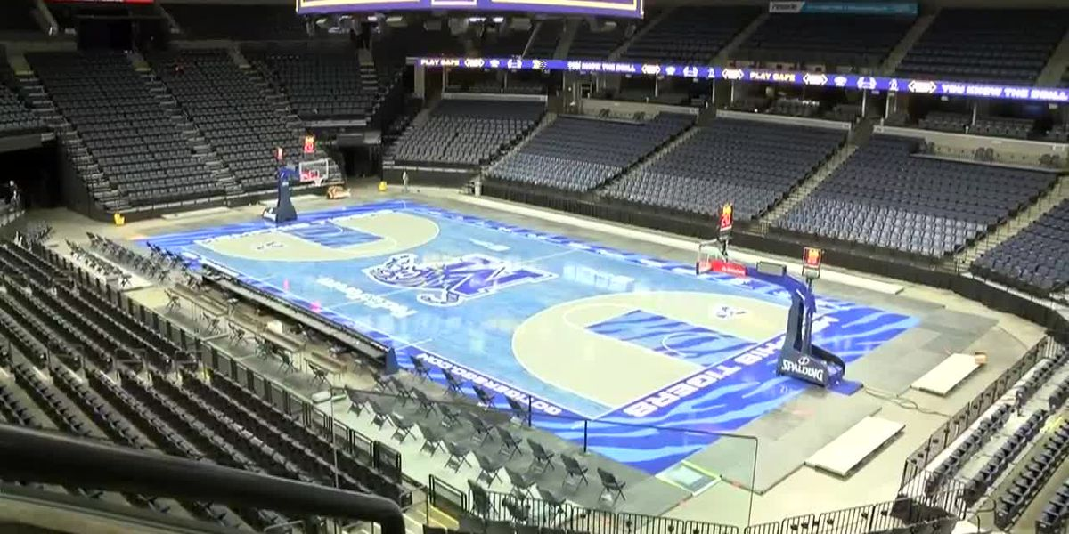 FedExForum makes safety changes ahead of Grizzlies, Tigers basketball games