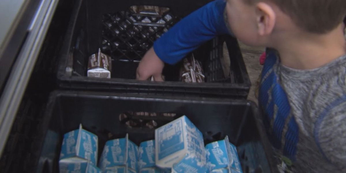 Local food bank receives grant for hungry children