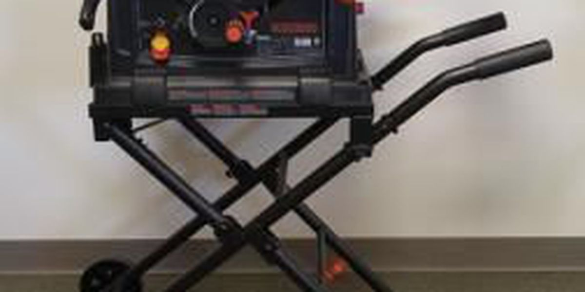 Recall: Portable table saws could collapse unexpectedly
