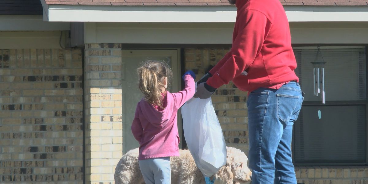 Nonprofit kicks off spring with street cleaning event