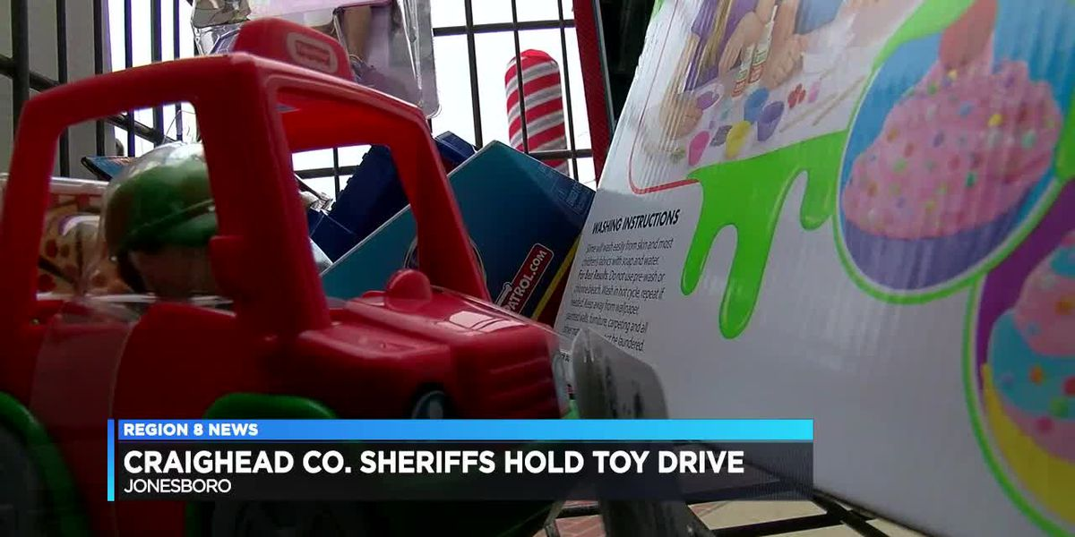 Craighead County Sheriff's Office collects toys for kids