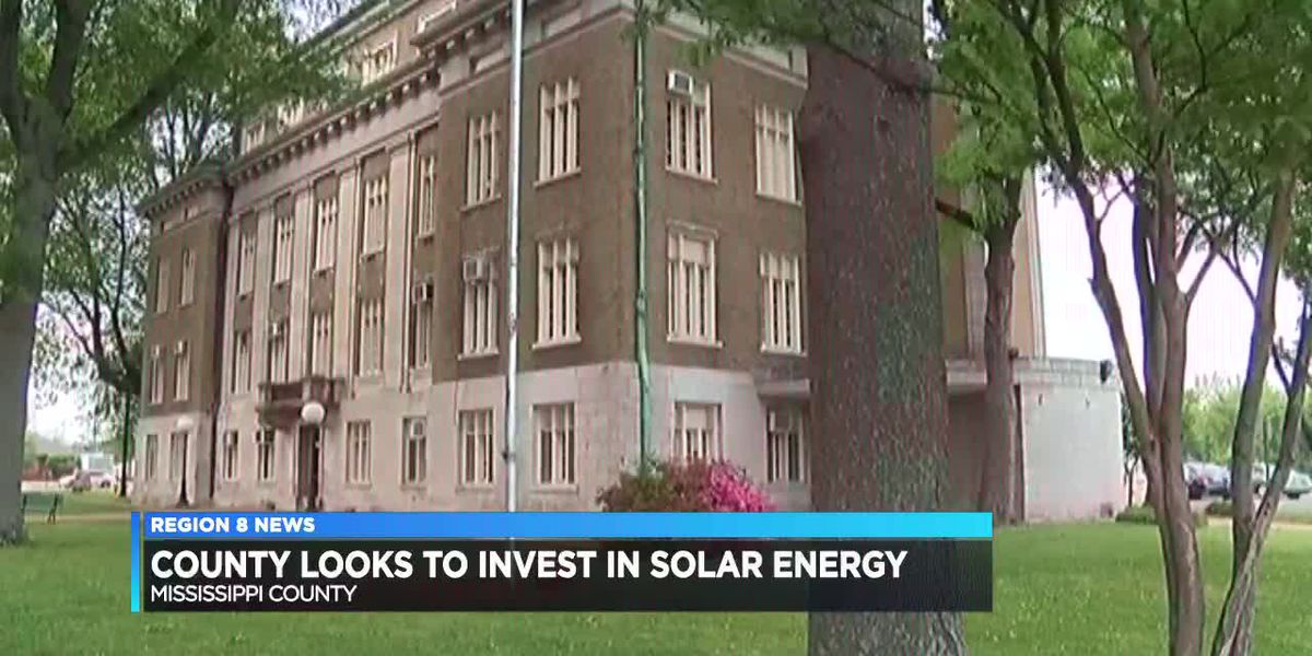 Officials look toward solar panels to reduce county energy costs