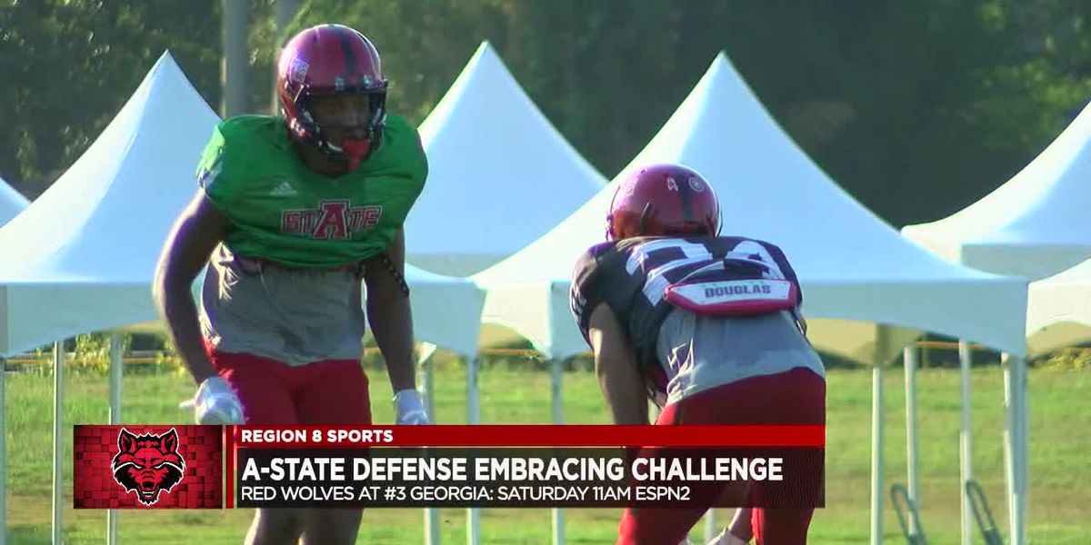 Arkansas State defense embracing challenge vs. #3 Georgia