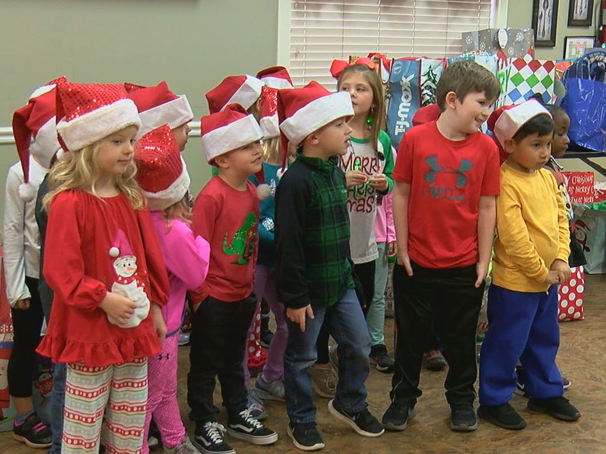 Students bring smiles and joy to senior citizens