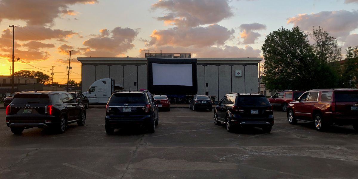 Movie night adapts to Drive-In Theatre