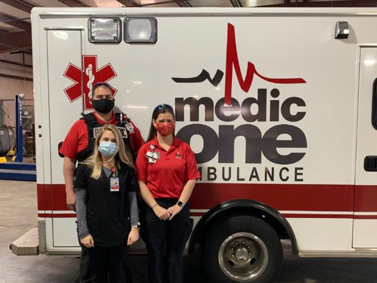 Medical students hitting the road for their education