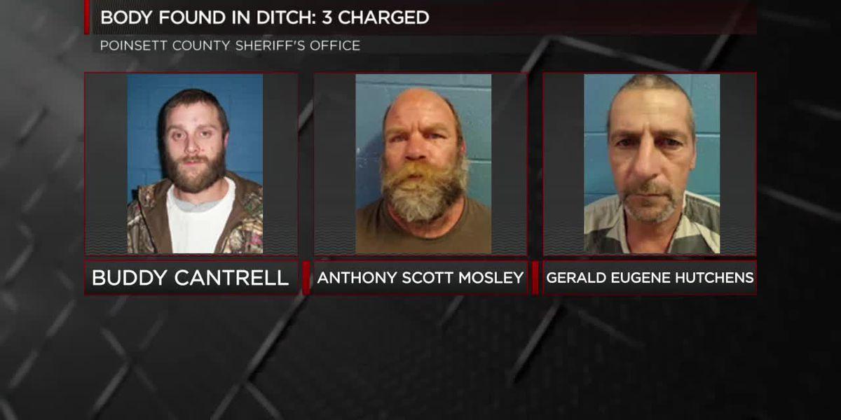 Body found in ditch identified