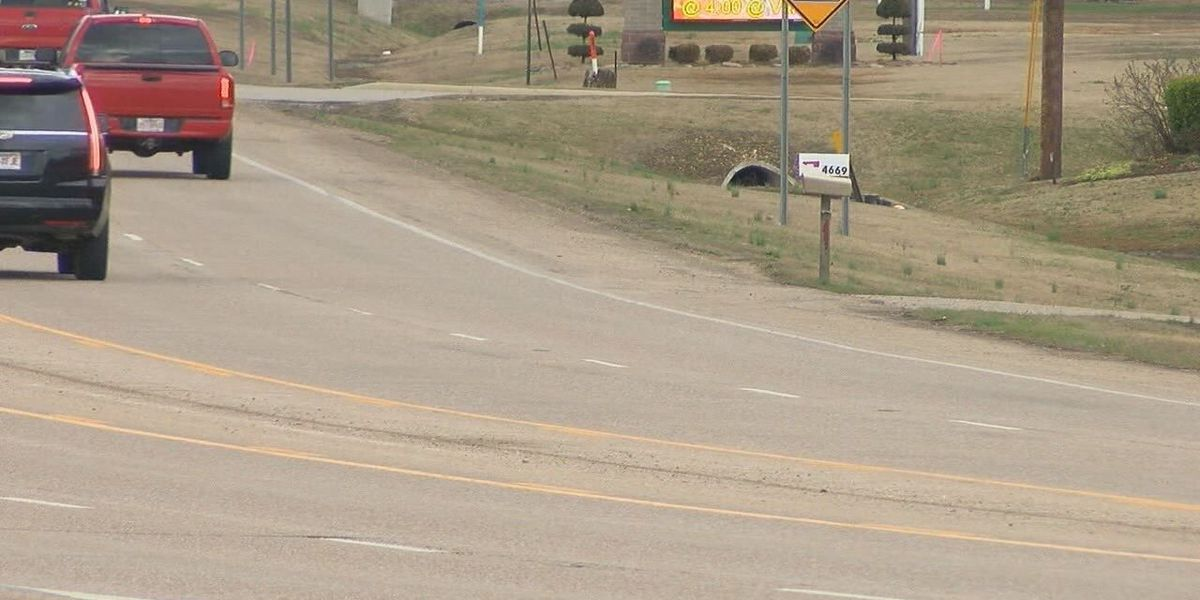 Busy highway may be in need of new striping